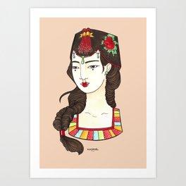 Ae-Sook Art Print
