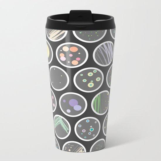 Petri Dish Metal Travel Mug