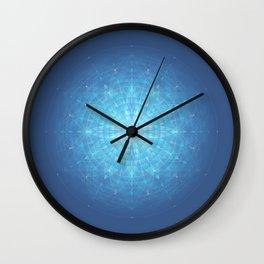 Enigma. Sacred geometry Wall Clock