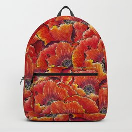 Big red poppies Backpack