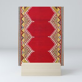 Darreh Shuri Qashqa'i Fars Persian Antique Kilim Print Mini Art Print