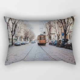 Middle of the road Rectangular Pillow