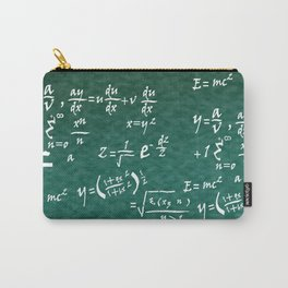 Math Equations Carry-All Pouch