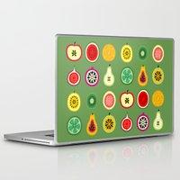 vector Laptop & iPad Skins featuring Banca de Frutas by Marcelo Romero
