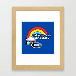 Magically Delicious Framed Art Print
