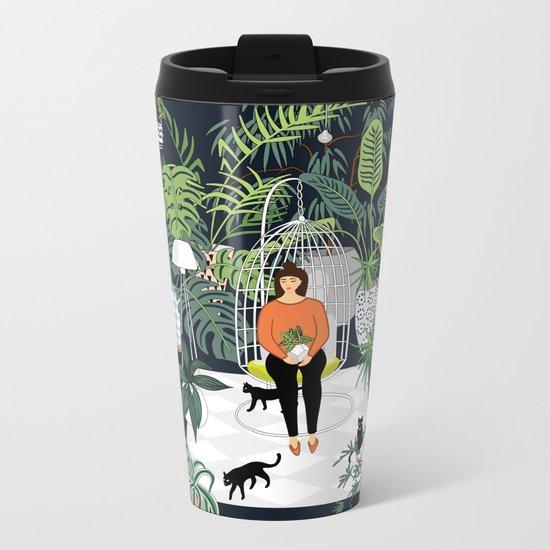 dark room print Metal Travel Mug