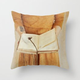 Secret Book Throw Pillow