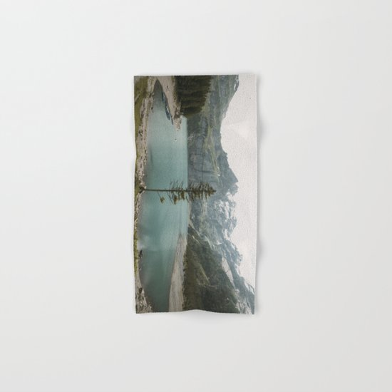 Lone Switzerland Tree - Landscape Photography Hand & Bath Towel