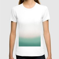 turquoise T-shirts featuring Turquoise by Flor Jan