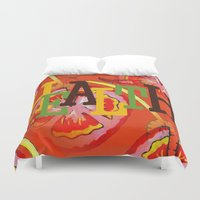 health Duvet Covers featuring Health by Sartoris ART