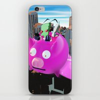 invader zim iPhone & iPod Skins featuring Invader Zim by inusualstuff