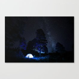 Camping out at Zion National Park's West Rim Trail at about 7,000 feet. 2 Canvas Print