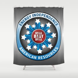 American Energy Independence Shower Curtain
