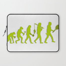 Evolution of Tennis Species Laptop Sleeve