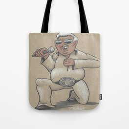 Captain Karaoke Tote Bag
