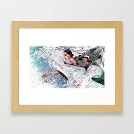 A Gaivota Framed Art Print