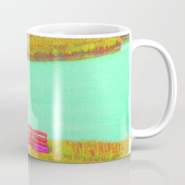 Outerbanks, NC sound and kayaks Coffee Mug