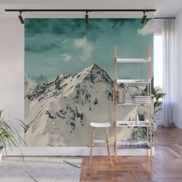 Snow Peak Wall Mural