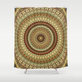 Earth Mandala 9 Shower Curtain