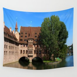 Old Architecture  Nuremberg Wall Tapestry