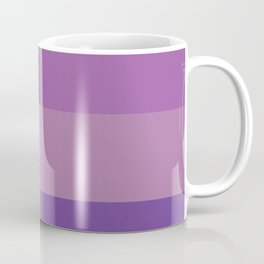 Purple Squares Coffee Mug