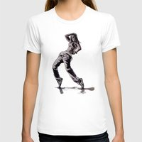 hiphop T-shirts featuring B GIRL - vanguard style by ARTito