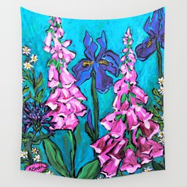 Garden View #1 Wall Tapestry