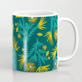 Spring Wildflower Pattern Coffee Mug