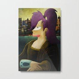 Mona Leela Metal Print