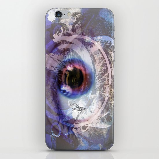 Looking through the lens  iPhone & iPod Skin