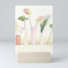 Pastel Foliage Mini Art Print