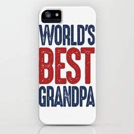 Gift for Grandpa iPhone Case