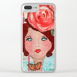 Anxious For Nothing Clear iPhone Case