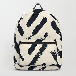 Retro Chevron Pattern 02 Backpack