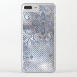 View through lace Clear iPhone Case