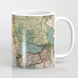 Vintage Map of Europe (1921) Coffee Mug