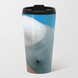 Beluga Whale Travel Mug