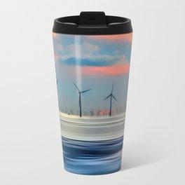 Windmills Travel Mug