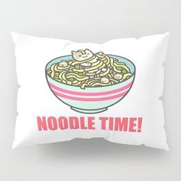 I Love Noodle Kawaii Artwork Pillow Sham