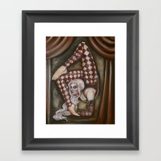 The Contortionist Framed Art Print