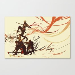 Squad Canvas Print