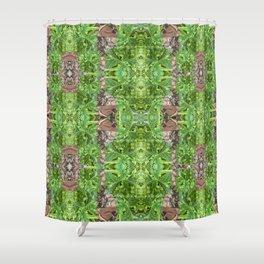 Palm Glory Shower Curtain