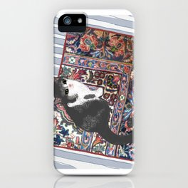 Patty on the Knoll Doodle iPhone Case