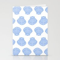 shells Stationery Cards featuring Shells by BIGEHIBI