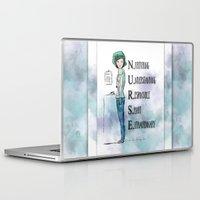 nurse Laptop & iPad Skins featuring Nurse with Stethoscope by Ginkelmier
