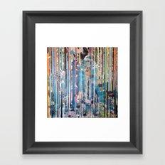 RIPPED STRIPES Framed Art Print