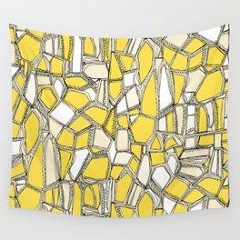 BROKEN POP lemon Wall Tapestry