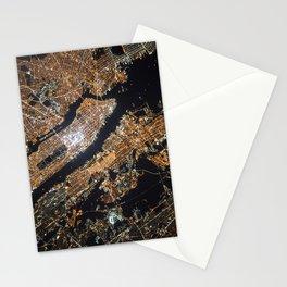New York City Lights Stationery Cards