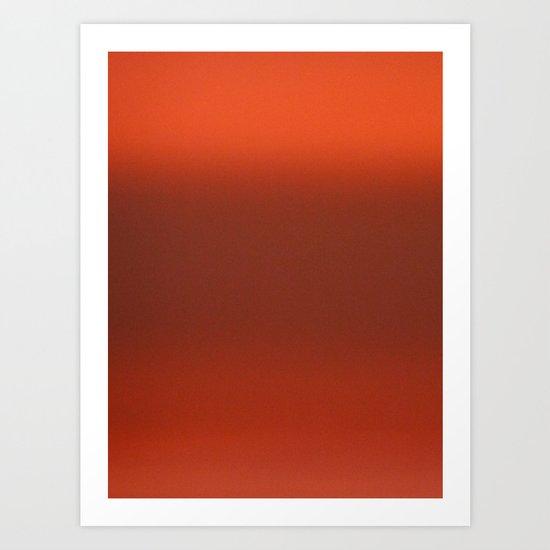 Rothko Sky 3 Art Print