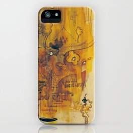 since the beginning we are... iPhone Case